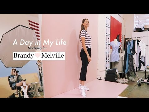 Day in The Life of a Model: Shooting for Brandy Melville!