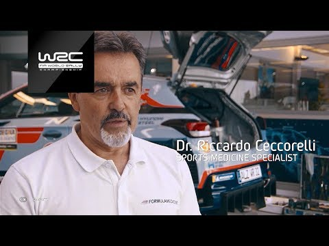 WRC 2018: A Driver´s Nutrition Plan