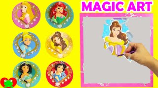 Disney Princess Magic Art Scratcher with Shopkins Happy Places and More