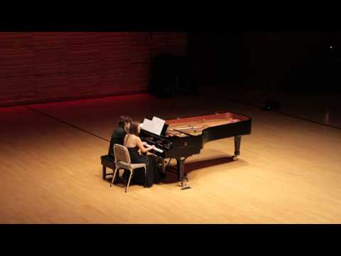 "This is Lee Shing's artwork - ""Breaking Boundaries"" HKGNA Music Festival 2014 – ""Pizzolla: Libertango for Four Hands"" played by Lee Shing and Michelle Kim"