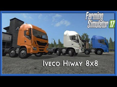 Iveco Hiway HKL 8x8 v1.0