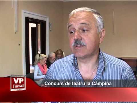 Concurs de teatru la Câmpina