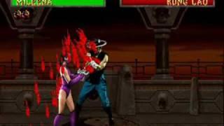 Mortal Kombat Fatalities part 1