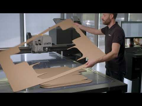 Sample making & packaging production with the Kongsberg X