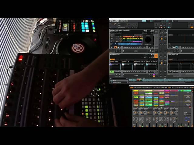 Traktor 2.11 Step Sequencer and Ableton Link Demo Remix