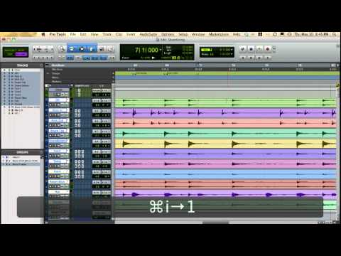 Pro Tools Unique Audio Quantize