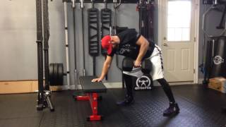 High Rep DB Rows for Massive Grip Strength for Bat Speed & Bat Control