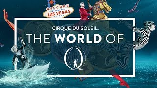 "Video A Surrealist Fantasy, Underwater Fires | Backstage in Las Vegas, The World of ""O"" 