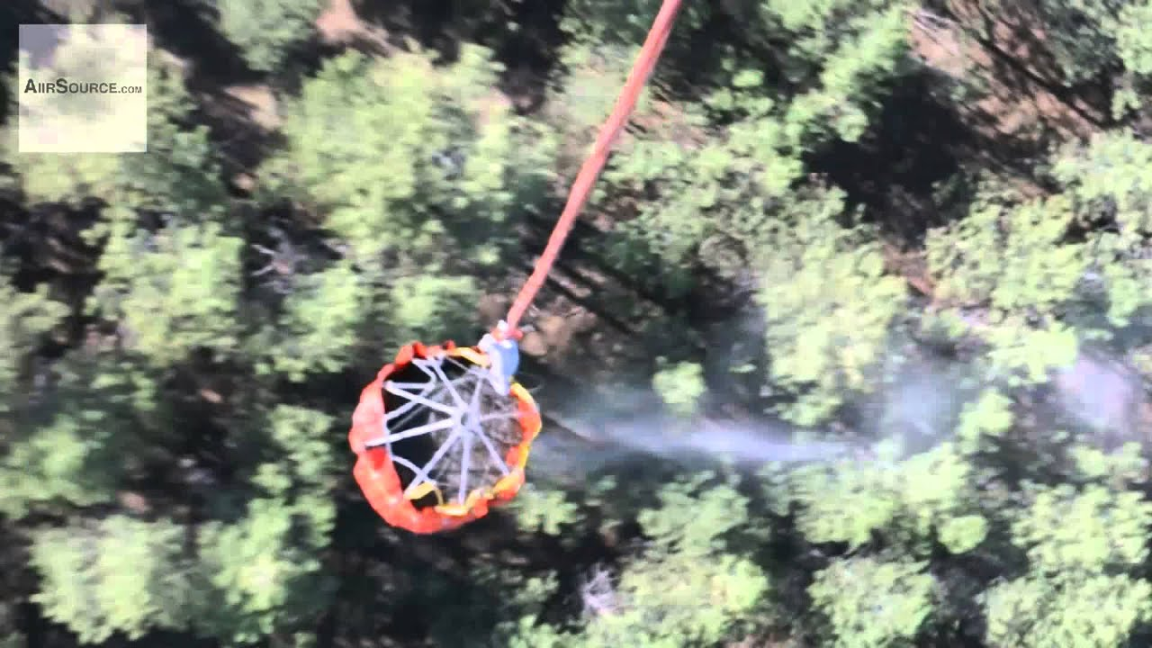 Bambi Buckets – Black Hawk Helicopters in Black Forest Fire | AiirSource