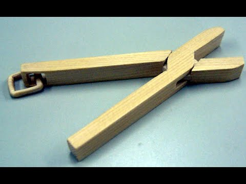 10 Cuts: Working Pliers Carved From Solid Block Of Wood