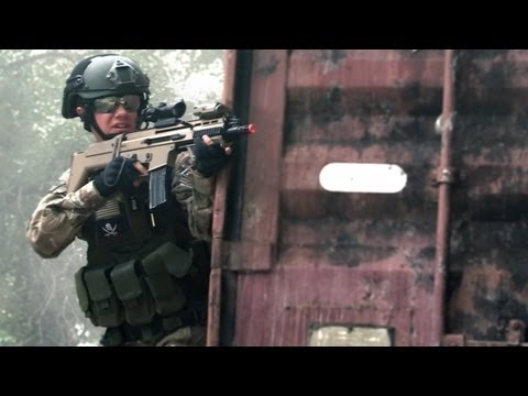 airsoft battle - Another intense fire fight at the Holy Cowz field, featuring medic rules and what eventually turns into Hamburger Hill! Keep up to date with FaceBook! http:/...