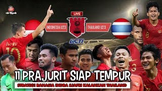 Video INDONESIA U23 VS THAILAND U23 STRATEGI RAHASIA INDRA SJAFRI KALAHKAN THAILAND MP3, 3GP, MP4, WEBM, AVI, FLV Maret 2019