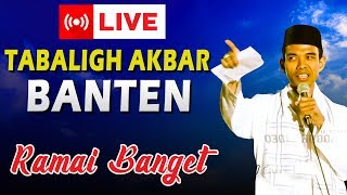 Video LIVE HARI INI Ceramah Ustad Abdul Somad, Lc., MA di Banten MP3, 3GP, MP4, WEBM, AVI, FLV September 2018