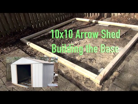 Arrow Shed - Building the Base