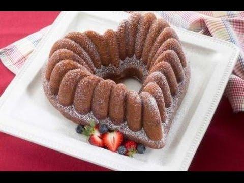 torta cuore al cioccolato san valentino - la videoricetta