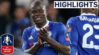 Video Chelsea 1-0 Manchester United | Kante Hits A Stunner | Emirates FA Cup Quarter-final 2016/17 MP3, 3GP, MP4, WEBM, AVI, FLV Agustus 2019