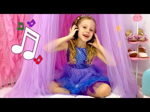 Nastya sings her favorite kid's songs