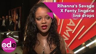 Rihanna's Savage X Fenty lingerie line drops