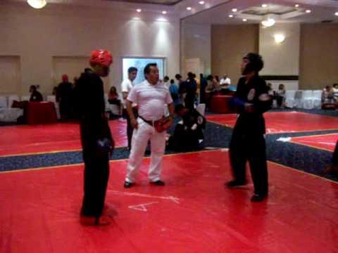lima lama - Gran KO en la final del torneo nacional en Acapulco de la Federacion Mexicana de LIMA LAMA.