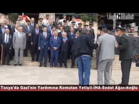 Tosya'da Gazinin düşmesini komutan yakaladı