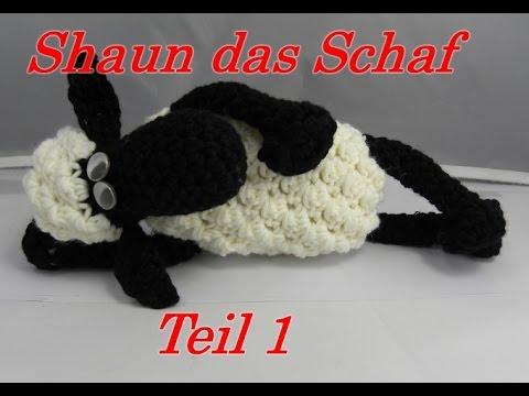 Shaun das Schaf Häkeln mit Veronika Hug – Teil 1: Huf mit Bein