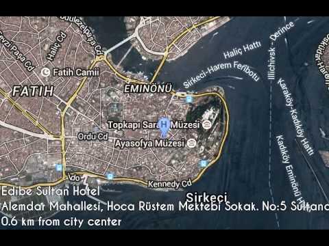 Edibe Sultan Hotel ★ Istanbul, Turkey (видео)
