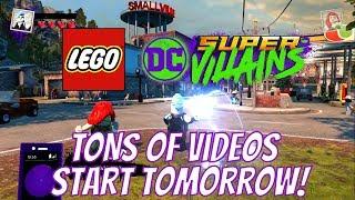LEGO DC Super Villains - TONS Of Video Coming Tomorrow!