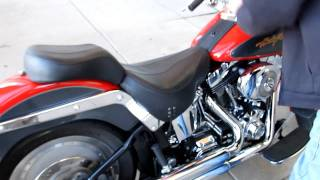 4. 2006 Harley-Davidson Softail Fat Boy Nice Color Good mods