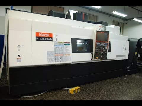 Turning and Milling Center MAZAK INTEGREX 300-IV T 2011