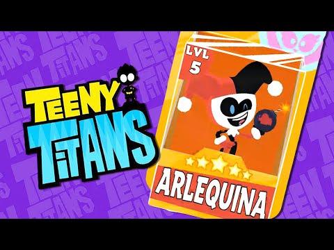 ARLEQUINA, JOVENS TITÃS!! | Os Mini Titãs - Teeny Titans #40
