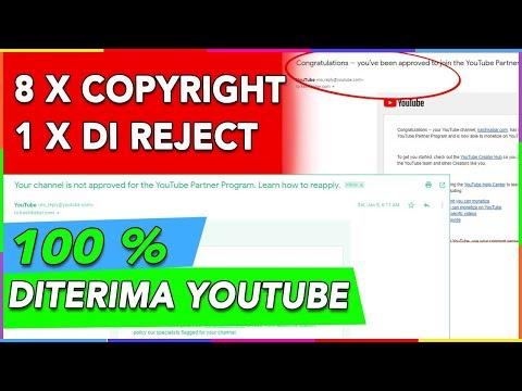 Tips di terima monetize Youtube 100% berhasil