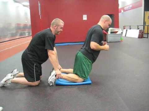 Hockey Training Partner Eccentric Hamstring Curl