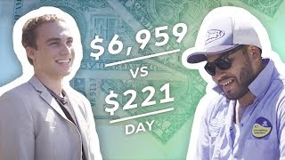 Video Earning $7,000 vs $220 in a Day: Real Estate Agent & Pool Cleaner MP3, 3GP, MP4, WEBM, AVI, FLV Juni 2019