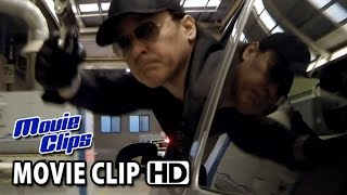 Drive Hard Movie CLIP - Car Chase (2014) - John Cusack Action Comedy HD