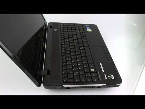 Fujitsu Lifebook AH531 HD Video-Preview