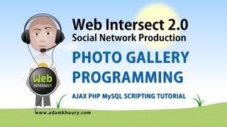 14. Ajax Tutorial Photo Gallery Programming Social CMS PHP MySQL JavaScript