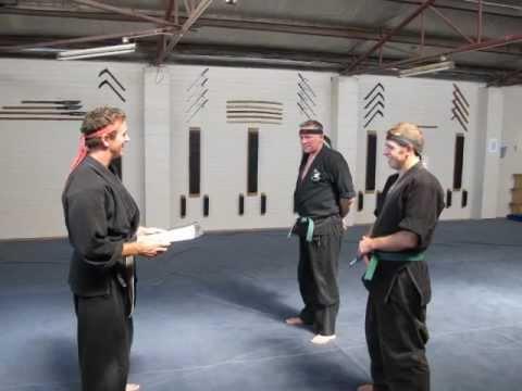 Shinsen Taijutsu Kai – Blue Belt Grading