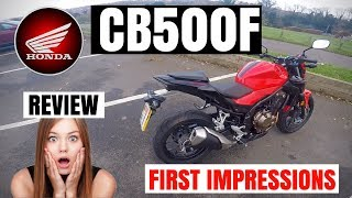 10. HONDA CB500F | Review | First impression