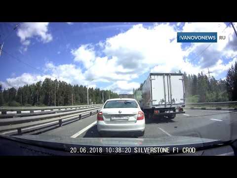 ДТП в Кукарино на трассе М-7