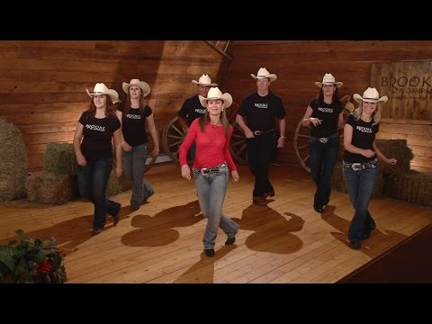 Cowboy Cha Cha – Line Dance Instruction