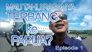 """Download Video TERBANG KE PAPUA eps1 """"Kelaparan & Kedinginan di kabin Garuda""""(Papua Vlog-012) MP3 3GP MP4"""