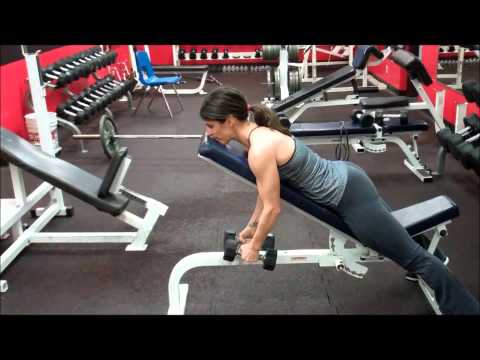 Exercise First: Incline Bench Reverse Flies