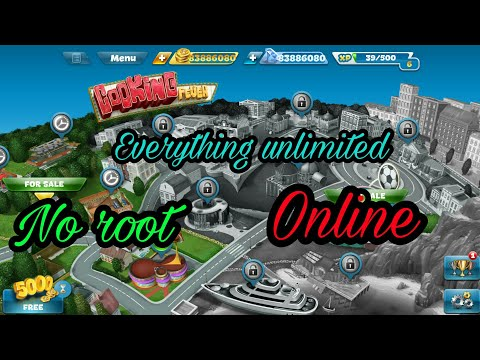Cooking Fever Hack GAME COIN DIAMONDS ONLINE / OFFLINE NO ROOT Unlimited