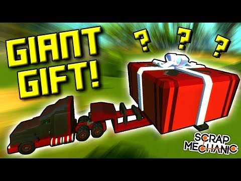 BATTLE TOASTER, MAZE GENERATOR, MYSTERY GIFT! [Your Best Builds 5] - Scrap Mechanic Gameplay