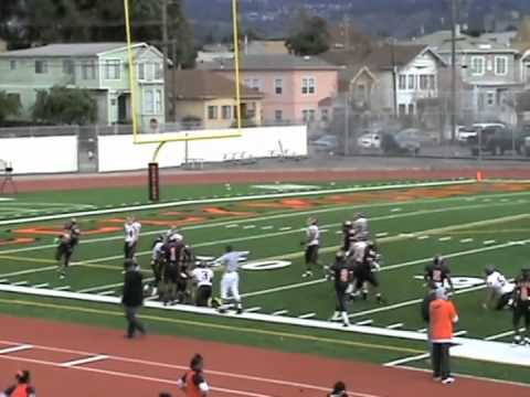 Marcus Peters High School Highlights video.