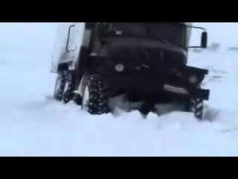 Слава Русским геофизикам and Rassian truck URAL .wmv