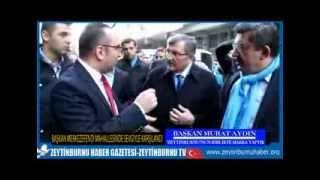 Başkan Murat Aydın Merkezefendi Mahallesi Sevgi Yürüyüşü