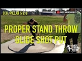 SHOT PUT  GLIDE TECHNIQUE SETTING UP A POWERFUL STAND THROW  ARETE THROWS NATION waptubes