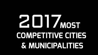The final ranking for 2017's Most Competitive Cities & Municipalities in the Philippines on Highly Urbanized City Category ...