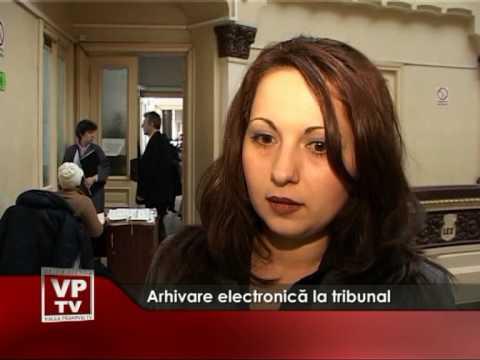 Arhivare electronica la Tribunalul Prahova